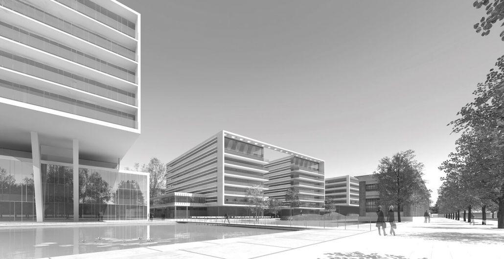 Büroprojekt Viertel Zwei   Perspektive Vom Boulevard