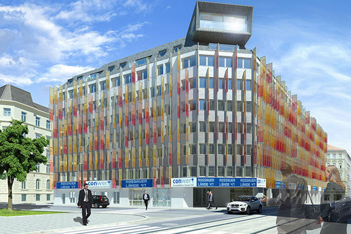 Rossauer Lände   Conwert Gebäudeoptimierung