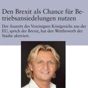 Brexit Als Chance