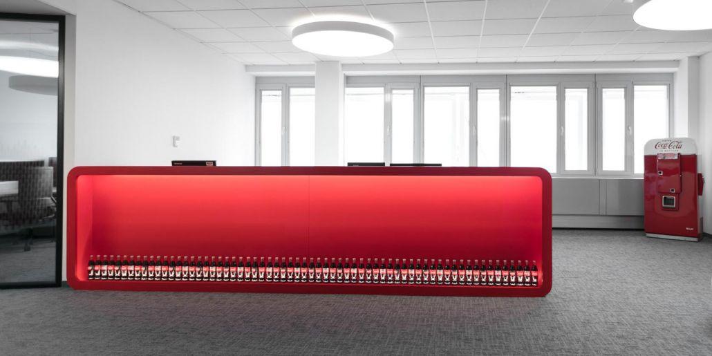 Büro Standortverlegung Coca Cola Wien