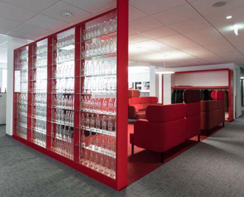 Bürokonzept Coca Cola Wien
