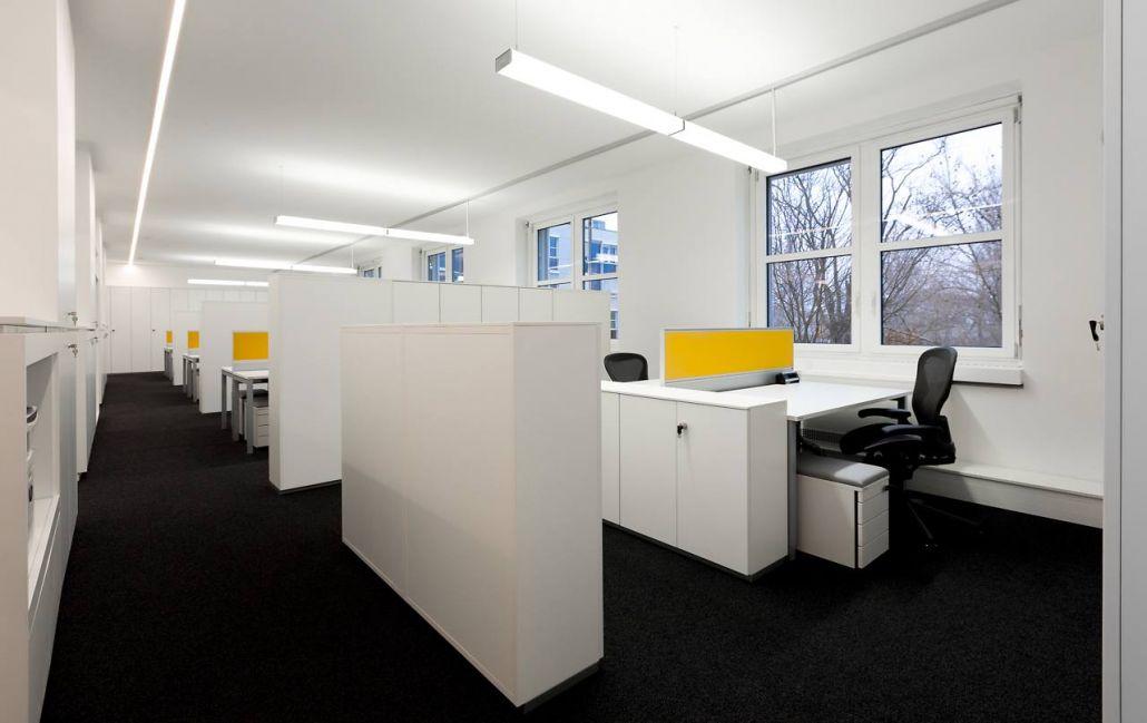 Bürokonzept Drei