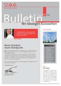 Toc Bulletin 2008 2