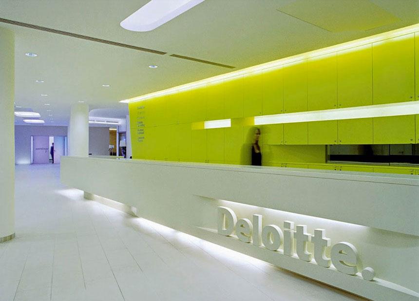 Bürokonzept Deloitte